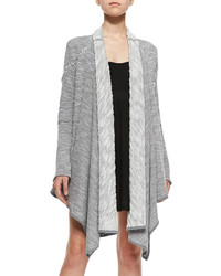 Free People In The Loop Long Open Front Cardigan