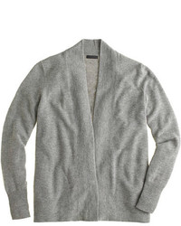 J.Crew Italian Cashmere Long Open Cardigan Sweater