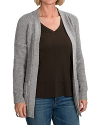 Jg Glover Co Peregrine By Jg Glover Open Front Cardigan Sweater Merino Wool