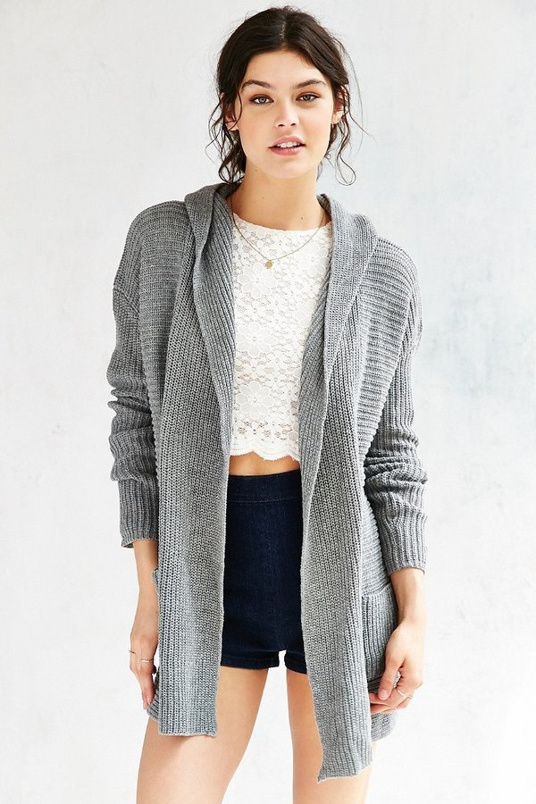 Kimchi & Blue Kimchi Blue Dylan Hooded Cardigan | Where to buy ...