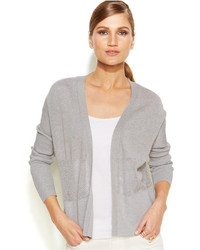 Vince Camuto Long Sleeve Mesh Panel Cardigan
