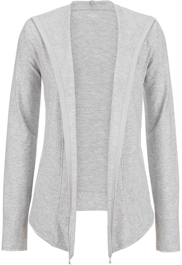 Maurices Long Sleeve Open Front Hooded Cardigan | Where to buy ...