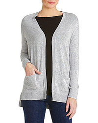 Westbound Open Front Hi Lo Knit Cardigan