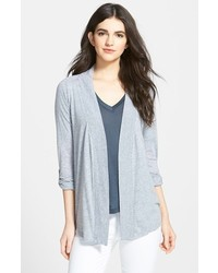Open front jersey cardigan medium 161829