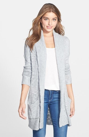 Halogen Open Front Long Cardigan | Where to buy & how to wear