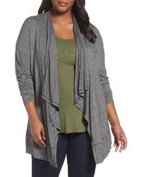 Plus size open front cardigan medium 4344100