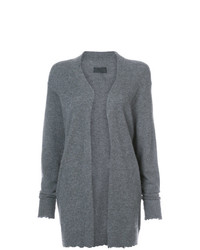 RtA Raw Edge Open Cardigan