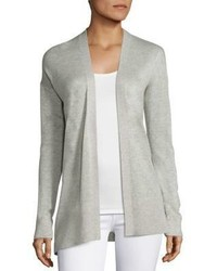 Saks Fifth Avenue Collection Silk Cashmere Open Cardigan