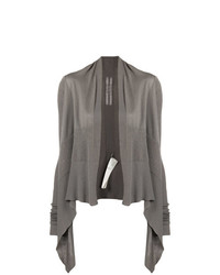 Rick Owens Short Wrap Cardigan