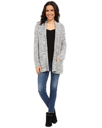 Bobeau Textured Cardigan
