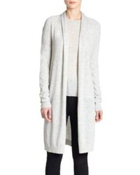 Theory Ashtry Open Front Merino Wool Cardigan Sweater