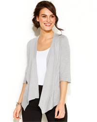 Alfani Three Quarter Sleeve Flyaway Cardigan