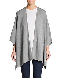 Vince Double Face Poncho Cardigan