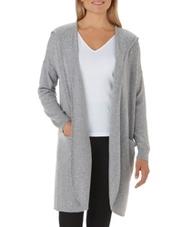 The White Company Wool Cashmere Hooded Cardigan