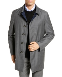 Hickey Freeman Classic Fit Reversible Overcoat