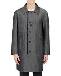 Yang Li Denim Overcoat Black