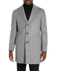 Nordstrom Men's Shop Fit Wool Blend Coat