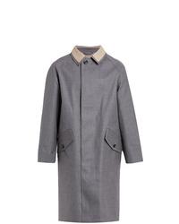 MACKINTOSH Grey Bonded Wool Coat