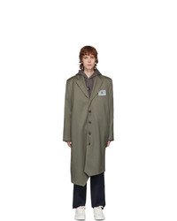 Ader Error Grey Gamel Coat