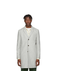 Tiger of Sweden Grey Wool Cempsey Coat