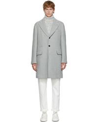 Brunello Cucinelli Grey Wool Coat