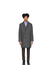 Hugo Grey Wool Malte 1941 Coat