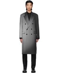 Fendi Grey Wool Spotlight Coat