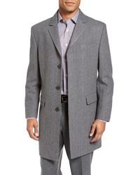 Hart Schaffner Marx Maitland Classic Fit Wool Blend Overcoat