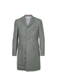 Thom Browne High Armhole Chesterfield Overcoat In Super 120s Twill