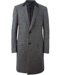 Lanvin Houndstooth Overcoat