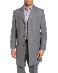 Maitland modern fit wool blend overcoat medium 950817