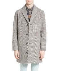 A.P.C. Manteau Tristan Cotton Linen Topcoat