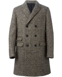 Neil Barrett Double Breasted Overcoat