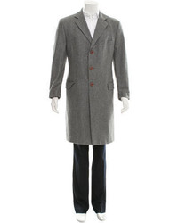 Dolce & Gabbana Virgin Wool Overcoat