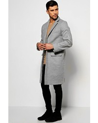 Boohoo Wool Look Overcoat