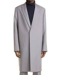 Jil Sander Wool Serge Tailored Coat