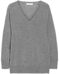Equipment Asher Oversized Cashmere Sweater Anthracite