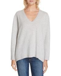 Nordstrom Signature Boiled Cashmere V Neck Sweater