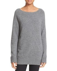 Cody wool cashmere boatneck sweater medium 1210724