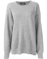 Women's Grey Oversized Sweaters by Dolce & Gabbana | Women's Fashion