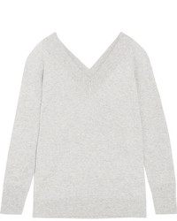 Equipment Linden Cashmere Sweater Gray