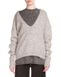 Women s Grey Oversized Sweaters by Acne Studios   Women s Fashion b29da6826a6