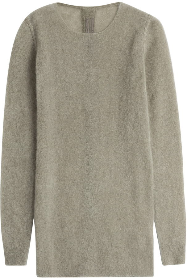 low priced 29324 05d4c $579, Rick Owens Oversize Pullover With Mohair