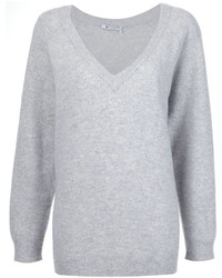 Alexander Wang T By Oversized V Neck Jumper