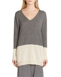 The Row Tammy Colorblock Sweater