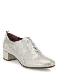 Marc Jacobs Betty Glitter Lace Up Oxfords