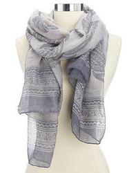 Charlotte russe lightweight paisley print scarf medium 111249