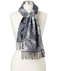 Croft barrow softer than cashmere paisley muffler scarf medium 111248