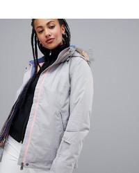 Roxy Jet Ski Solid Jacket In Grey