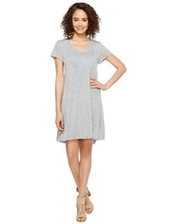 Mod-o-doc Patchwork Burnout Jersey Trapeze T Shirt Dress Dress
